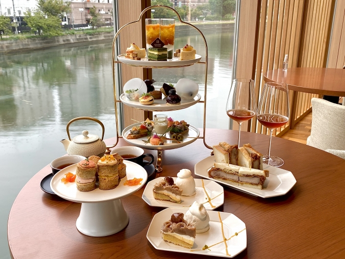 QUON River terrace(クオンリバーテラス) Premium WAfternoon tea