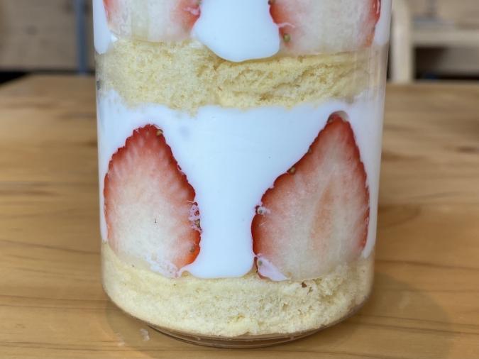 『Parfaiteria beL(パフェテリア ベル)』ショートケーキ缶