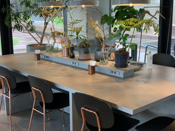 CAFEE OTTO ROOF TOP GARDEN(カフェ オットー ルーフトップ ガーデン) 店内