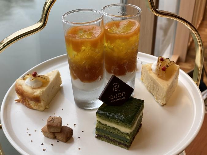 QUON River terrace(クオンリバーテラス) Premium WAfternoon teaのプチフール