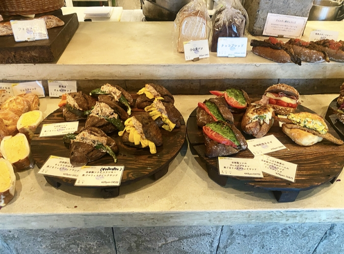 amam dacotan(アマムダコタン) 総菜パン