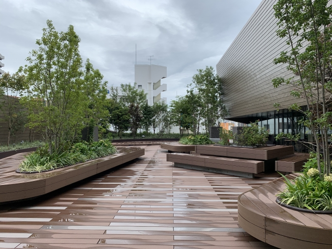 CAFEE OTTO ROOF TOP GARDEN(カフェ オットー ルーフトップ ガーデン) テラス席