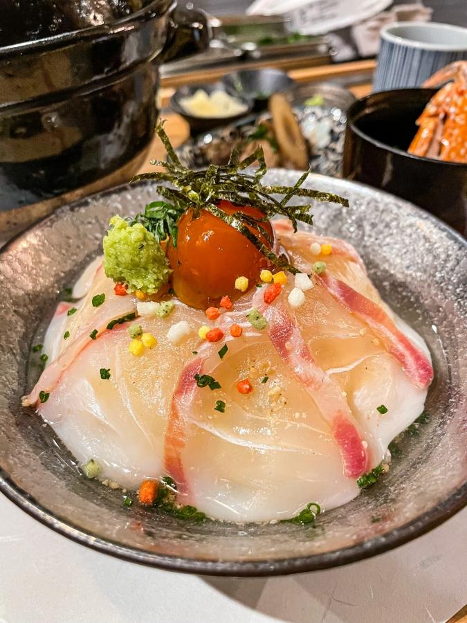 「熾火や 魚二(おきびやうおに)」鯛めし土鍋堪能御膳・鯛茶漬け完成画像