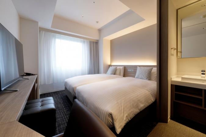 「グローカルホテル糸島」スタンダードツインルーム