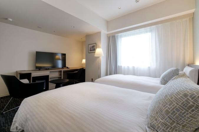 「グローカルホテル糸島」ユニバーサルツインルーム