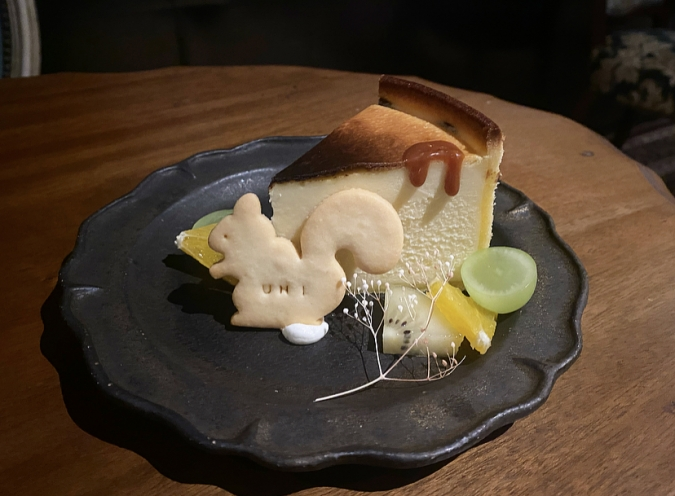 UNI(ゆに)さつまいものベイクドチーズタルト