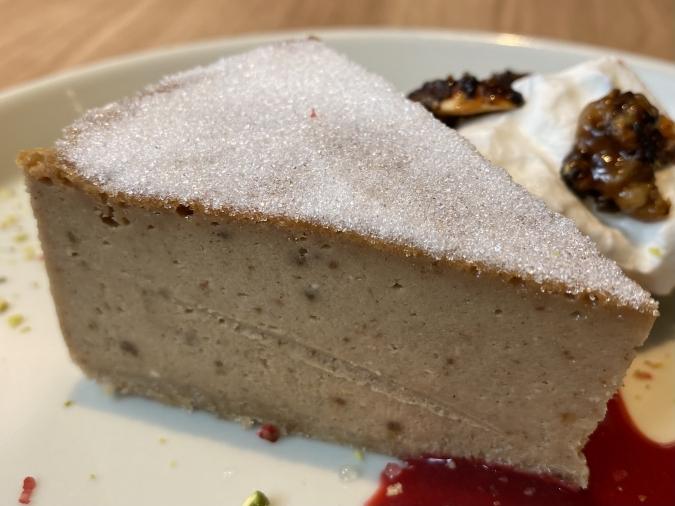 「KAKA桜坂店」スパイスチーズケーキ