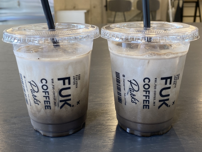 『FUK COFFEE(R)parks』ほうじ茶ラテ