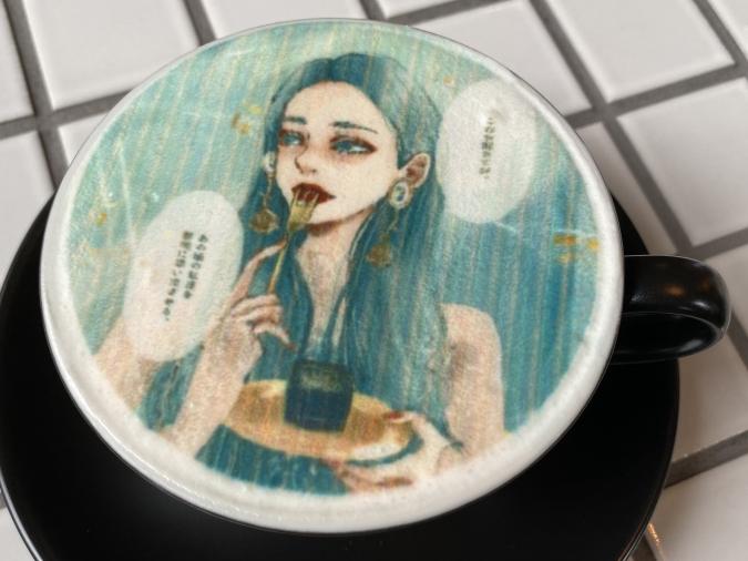 『LOVELESS COFFEE』Ran.さんのイラストのプリントアート