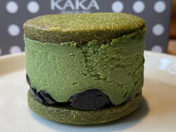 「KAKA桜坂店」チーズバターサンド・抹茶