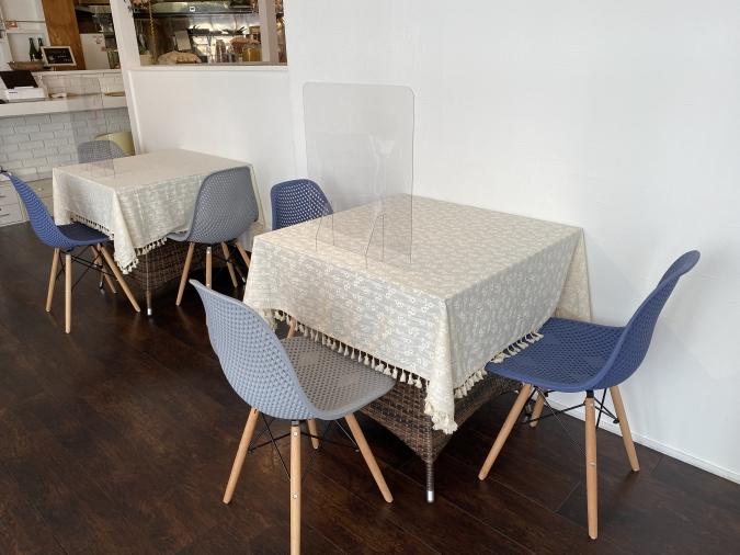 La Mia Casa(ラミアカーサ)薬院店 座席