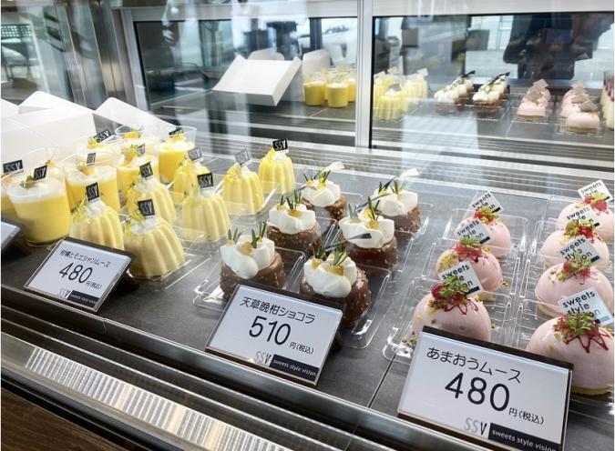 sweets style vision(スイーツスタイルビジョン) ショーケース