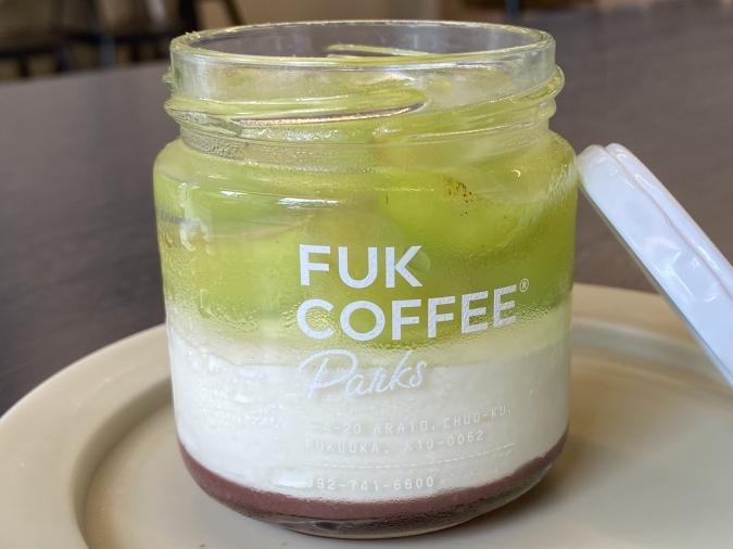 『FUK COFFEE(R)parks』シャインマスカットと巨峰のジュエルケーキ