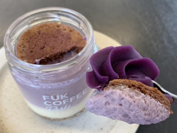 『FUK COFFEE(R)parks』紫芋ティラミス