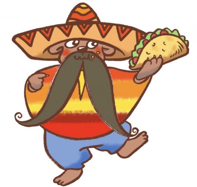 『TACOS DE URSA(タコスデウルサ)』お店のキャラクター