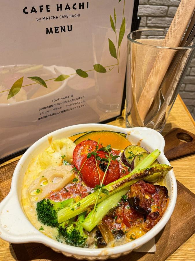 CAFE HACHI「豆乳ソース・玄米・季節の野菜たちのドリア」