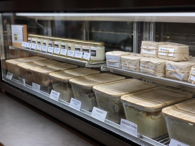 「OK Bagel」自家製クリームチーズ