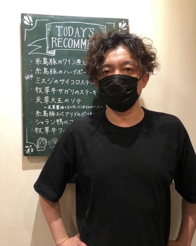 Okada Dining&Cafe Sweets HAKATA(オカダダイニング&カフェスイーツハカタ) オーナー・岡田さん