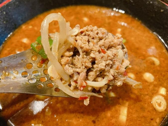 博多坦々麺 新田屋梟(にったやふくろう) 担々麺