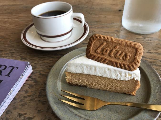 『honu.cafe』ロータスチーズケーキ