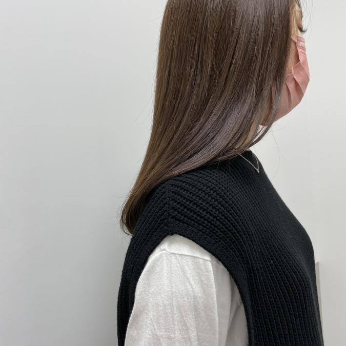 自然な仕上がり!日本人に馴染みやすい「ブラウンベースのヘアカラー」