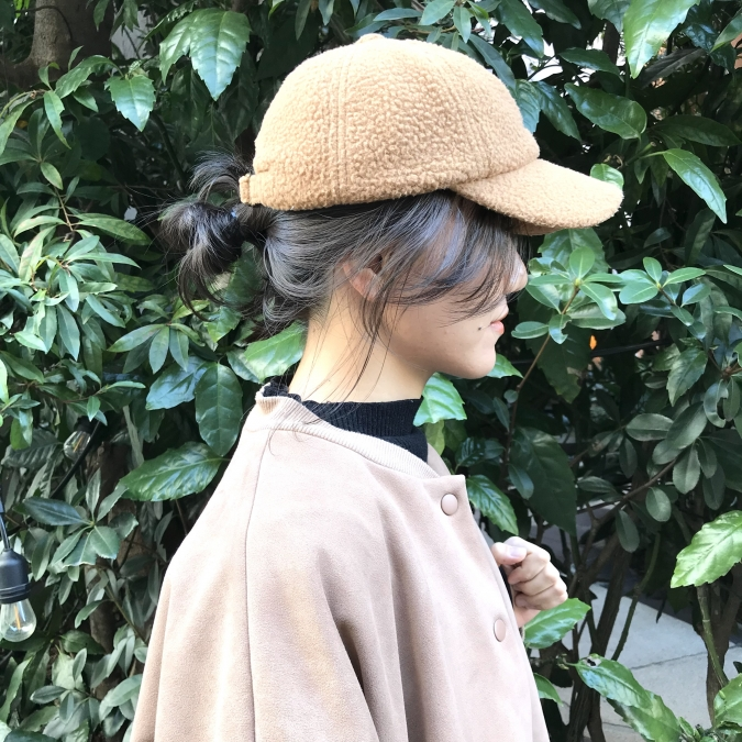 これからの季節は「お団子×帽子の組み合わせ」がおすすめ!