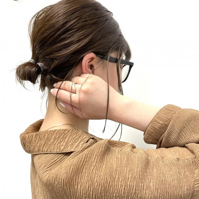 毛が落ちちゃう…を解決!ショートヘアで髪を結ぶときのスタイリングのコツ