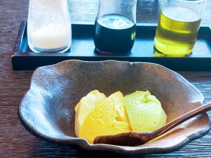 とうふ家 酒瀬川(さかせがわ) 3種の豆腐
