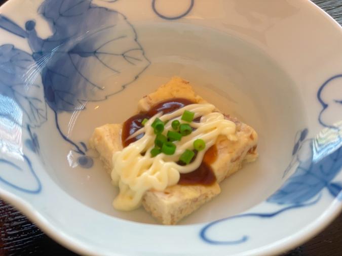 とうふ家 酒瀬川(さかせがわ) 豆腐ハンバーグ御膳(本日の一品)