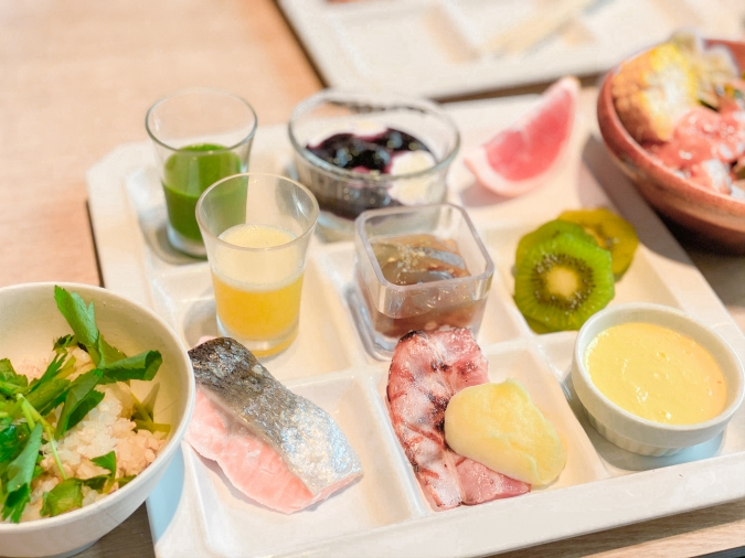 「グローカルホテル糸島」朝食