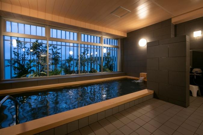 「グローカルホテル糸島」大浴場