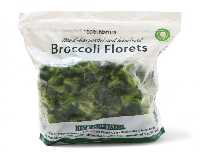NEW WORLD FARMS 冷凍ブロッコリー