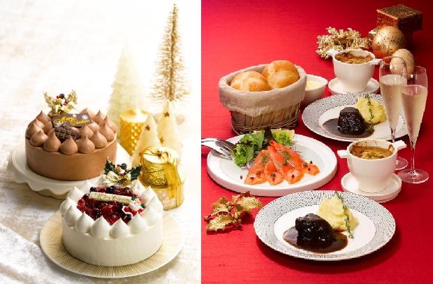 ロイヤルのクリスマスケーキ&ディナー