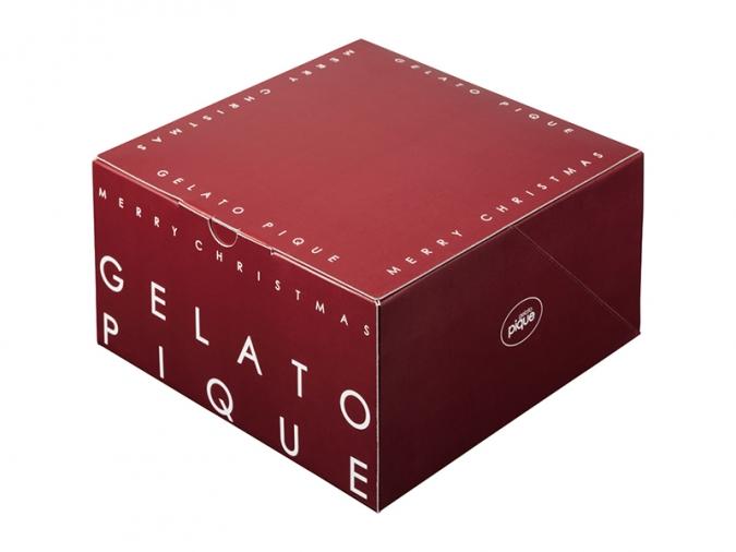 ジェラピケクリスマスケーキ2021箱