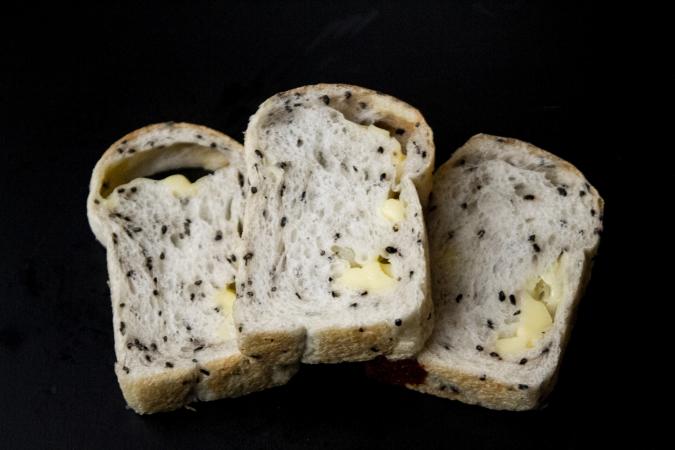 酵母工房 田の香(たのか) 黒ゴマチーズパン