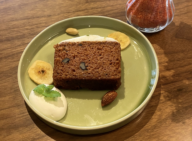 cafe lily(カフェリリー) キャロットケーキ