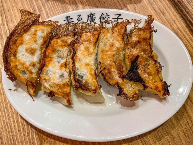 『壽ゑ廣 餃子』広島牡蠣餃子