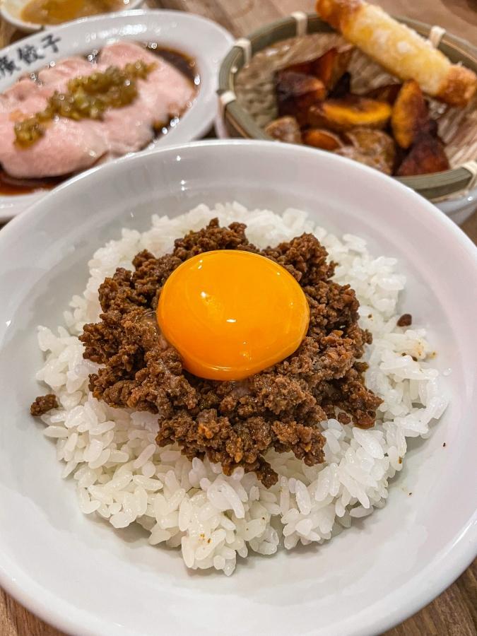 『壽ゑ廣 餃子』肉味噌飯