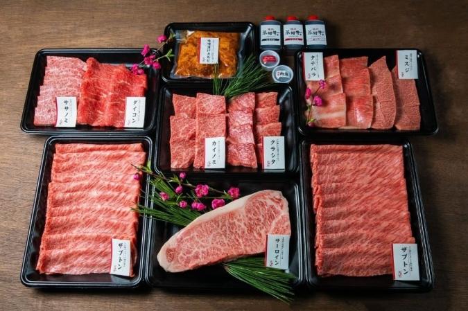 「焼肉 菜好牛」超特盛セット