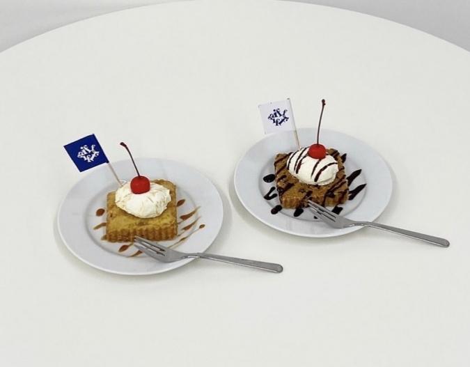 『gifff(ジフ)』クッキーチーズケーキ2種