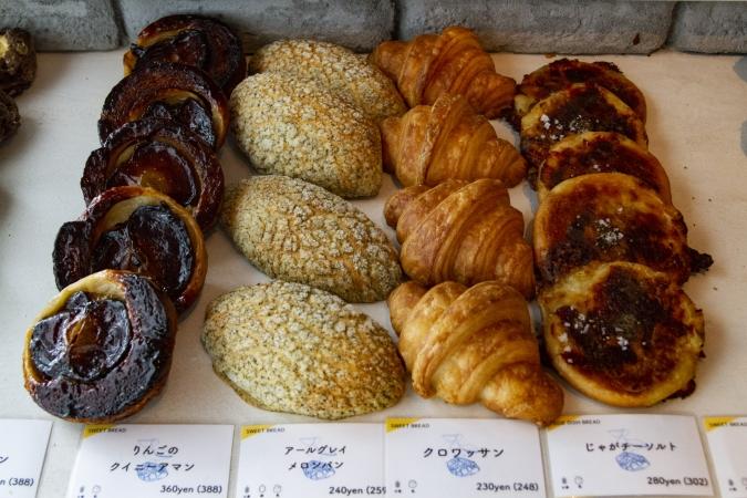 「アマムダコタン表参道店」パン