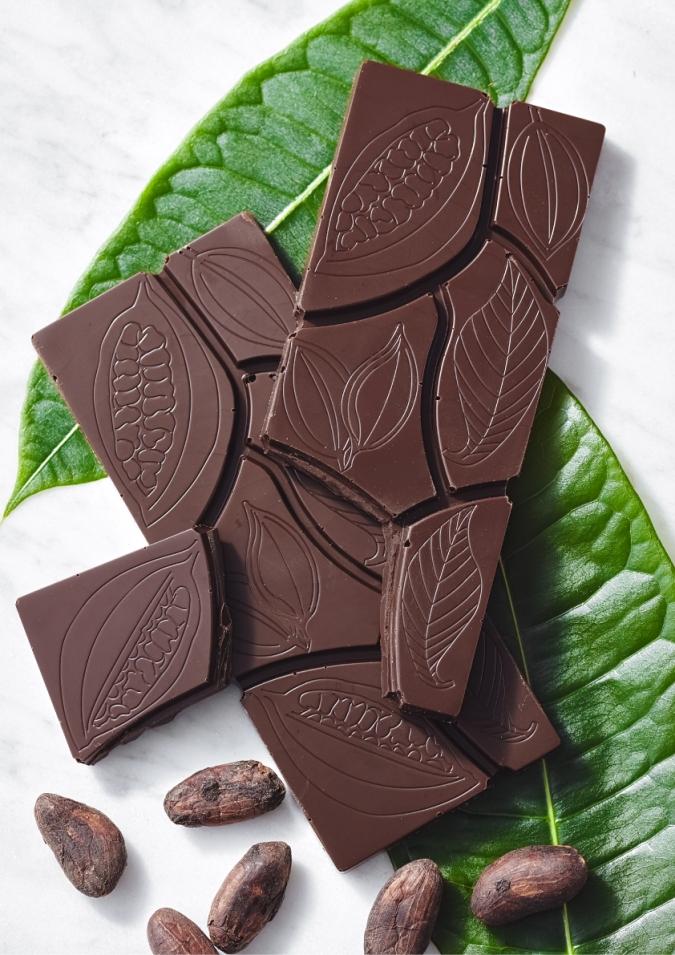 ホールフルーツチョコレートタブレット