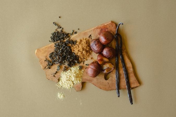 「Mr. CHEESECAKE marron(ミスターチーズケーキ マロン)」材料